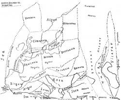 Хайборийская Эра Карта